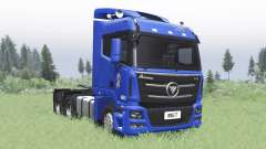 Foton Auman GTL 2012 v2.0 для Spin Tires