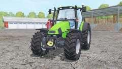 Deutz-Fahr Agrotron 120 Mk3 loader mounting для Farming Simulator 2015