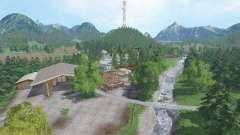 Wildcreek Valley v3.2 для Farming Simulator 2015