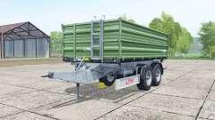 Fliegl TDK 160 dark green для Farming Simulator 2017