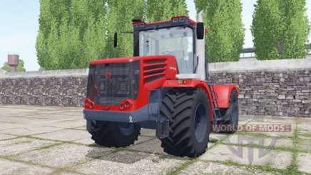 Кировец К-744Р4 с выбором конфигураций для Farming Simulator 2017