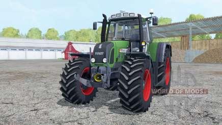 Fendt 820 Vario TMS loader mounting для Farming Simulator 2015