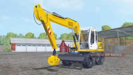 Liebherr A 900 Compact Litronic forest для Farming Simulator 2015