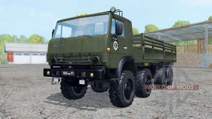 КамАЗ-6350 для Farming Simulator 2015