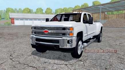 Chevrolet Silverado 3500 HD Crew Cab 2016 для Farming Simulator 2015