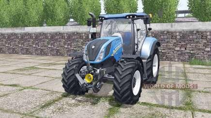 New Holland T6.140 Michelin tires для Farming Simulator 2017