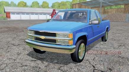 Chevrolet K1500 Extended Cab для Farming Simulator 2015