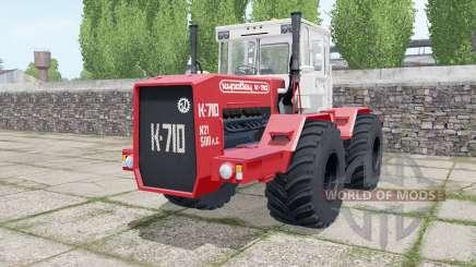 Кировец К-710 спаренные колёса для Farming Simulator 2017