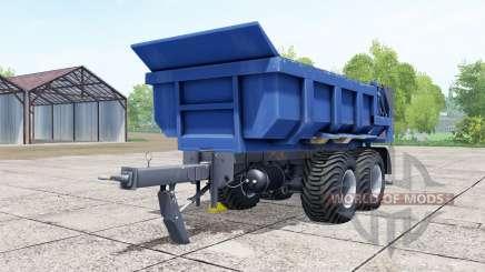 Hilken HI 2250 SMK blue для Farming Simulator 2017