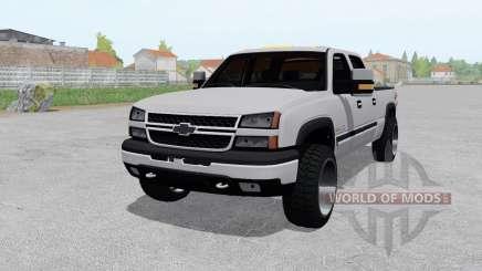 Chevrolet Silverado 2500 HD Crew Cab 2002 для Farming Simulator 2017