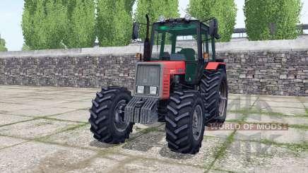МТЗ 820 Беларус спаренные задние колёса для Farming Simulator 2017