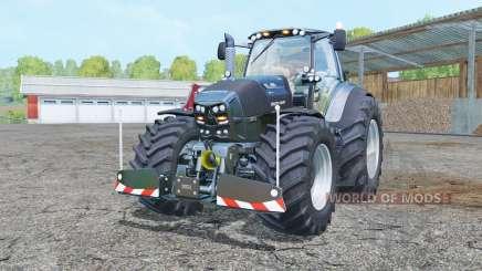 Deutz-Fahr Agrotron 7250 TTV Warrior twin wheels для Farming Simulator 2015