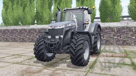 Massey Ferguson 8732 Black Edition для Farming Simulator 2017