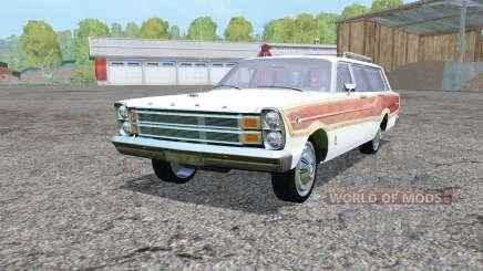 Ford Country Squirᶒ 1966 для Farming Simulator 2015