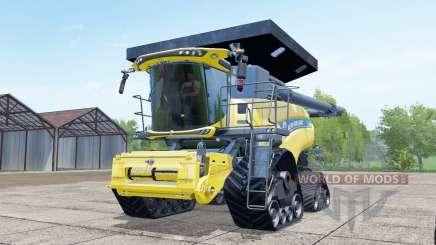New Holland CR10.90 crawler modules для Farming Simulator 2017