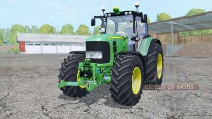 John Deere 7530 Premium front loadeᶉ для Farming Simulator 2015