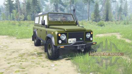 Land Rover Defendeᶉ 110 Station Wagon для MudRunner