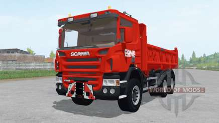 Scania P420 tipper для Farming Simulator 2017