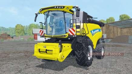 New Holland CR10.90 wheels для Farming Simulator 2015