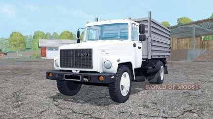ГАЗ САЗ 35071 с прицепом для Farming Simulator 2015