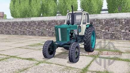 ЮМЗ 6Л с погрузчиком для Farming Simulator 2017