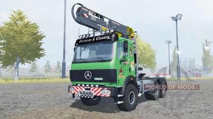 Mercedes-Benz 2631 S timber loader v2.0 для Farming Simulator 2013