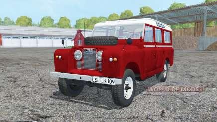 Land Rover Series II 109 Station Wagon 1965 для Farming Simulator 2015