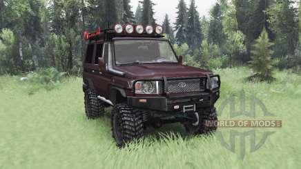 Toyota Land Cruiser 70 (J76) 2007 v4.0 для Spin Tires