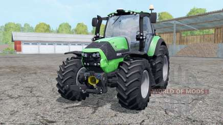Deutz-Fahr Agrotron 6190 TTV wheels weightᶊ для Farming Simulator 2015