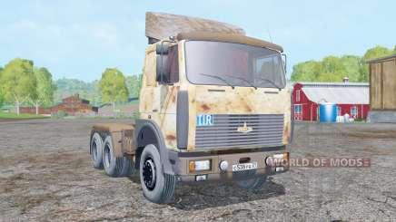 МАЗ 642208 ржавый для Farming Simulator 2015