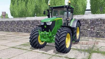 John Deere 6145R animated element для Farming Simulator 2017