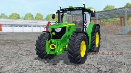 John Deere 6170R front loadeᶉ для Farming Simulator 2015
