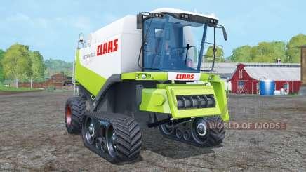 Claas Lexion 560 TerraTrac with cutters для Farming Simulator 2015