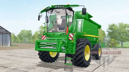 John Deere T670i wheels selection для Farming Simulator 2017