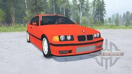 BMW M3 Coupe (E36) 1994 для MudRunner