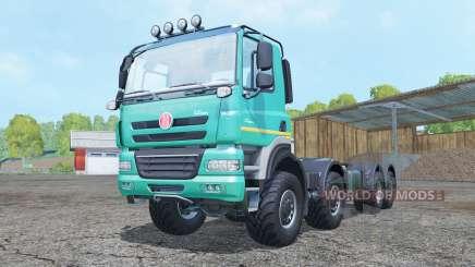 Tatra Phoenix T158 8x8 hooklift для Farming Simulator 2015