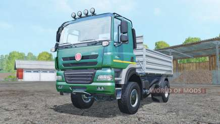 Tatra Phoenix T158 4x4 tipper 2011 для Farming Simulator 2015