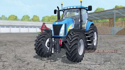 New Holland TG285 with weight для Farming Simulator 2015