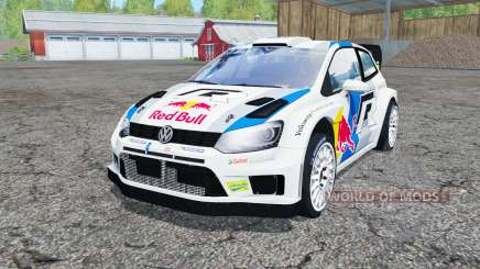 Volkswagen Polo R WRC (Typ 6R) 2013 для Farming Simulator 2015