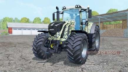 Fendt 927 Vario camouflage для Farming Simulator 2015