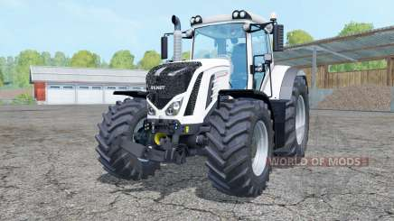 Fendt 927 Vario white для Farming Simulator 2015