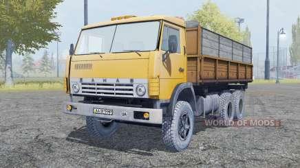 КамАЗ 55102 6ᶍ6 для Farming Simulator 2013