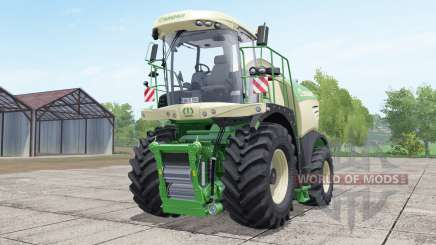 Krone BiG X 580 dynamic hoseʂ для Farming Simulator 2017