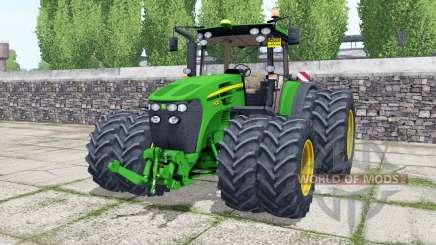 John Deere 7930 double wheels для Farming Simulator 2017