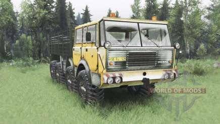 Tatra T813 TP 8x8 Kings Off-Road 2 winter v1.1 для Spin Tires