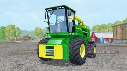 John Deere 7180 with cutter для Farming Simulator 2015