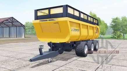 La Littoᶉale C 390 для Farming Simulator 2017