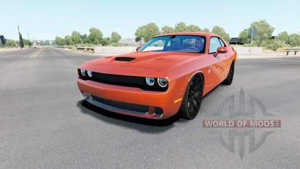 Dodge Challenger SRT Hellcat (LC) 2018 для American Truck Simulator