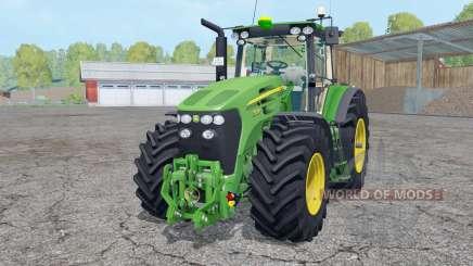 John Deere 7930 interactive control для Farming Simulator 2015