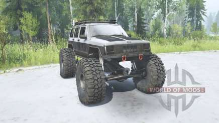 Jeep Cherokee (XJ) 1988 TTC для MudRunner